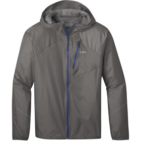 Outdoor Research Helium Rain Jacket Men pewter